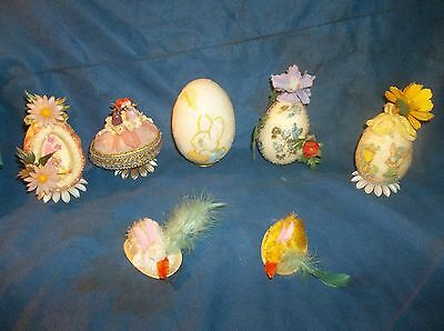 VINTAGE LOT OF EASTER DECORATIONS