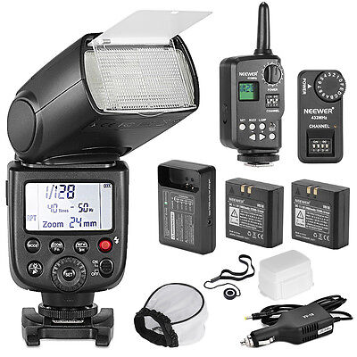 TT850 FLASH KIT (flash +Diffuser & Cap + Trigger +Battery + AC charger +
