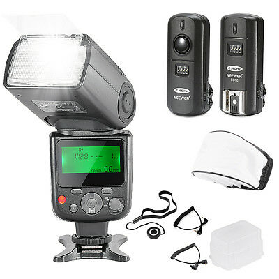 Neewer NW670 E-TTL Flash Kit for Canon DSLR Cameras for Canon Rebel T5i T4i T3i