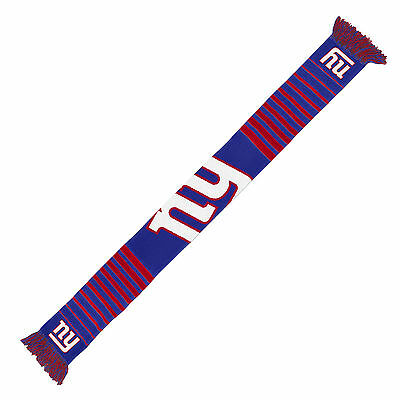 New York Giants Scarf Knit Winter Neck NEW NFL - Big Logo - Team Colors