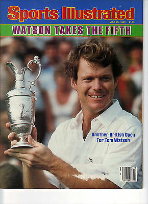 Sports Illustrated Tom Watson Takes the 5th British Open 1983