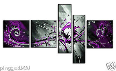 5pc Modern Abstract Huge Art Oil Painting Handmade canvas on wall(no frame)P008