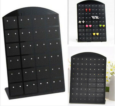 Hot 36 Pairs Jewelry Holder Organizer Earrings Display Stand 72 Pair d109 HS7