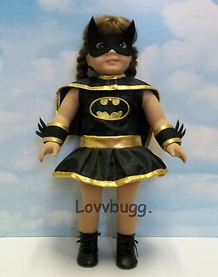 "Bat Girl Costume fits 18"" American Girl Doll Clothes WIDEST SELECTION FOUND!"