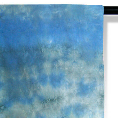 6 X 9 FT  Photography Backdrop Hand Dyed  Muslin Background
