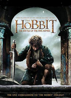 THE HOBBIT : THE BATTLE OF THE FIVE ARMIES - WIDESCREEN DVD -SINGLE DISC EDITION