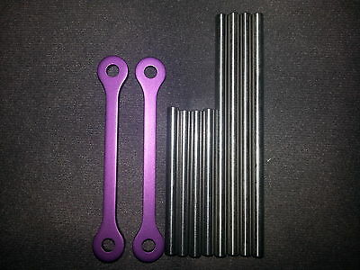 NEW HPI SAVAGE X 4.6  HINGE PINS A ARMS SUSPENSION PURPLE
