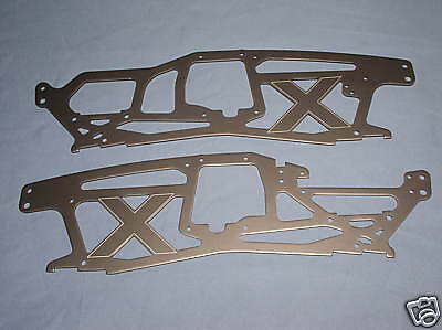 NEW HPI SAVAGE X 4.6 CHASSIS PLATES FRAME