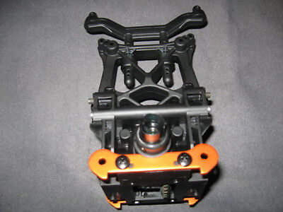 NEW HPI SAVAGE XL BULLET PROOF Differential Diff 29/9 ORANGE BRACES
