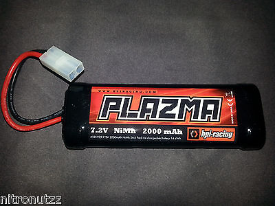 NEW HPI SAVAGE BATTERY PACK 2000mAh NiMH Battery and Charger 7.2V