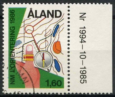 Aland Islands 1986 SG#20 Nordic Orienteering Used #A83870