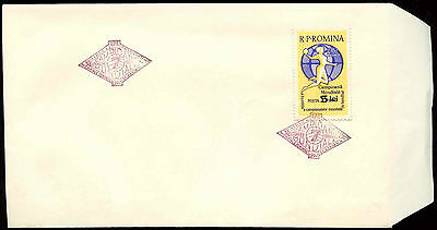 Romania 1962 Handball Optd FDC First Day Cover #C20915