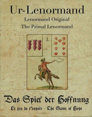 Primal Original Lenormand Game of Hope Fortune Telling 36 Cards Instructions