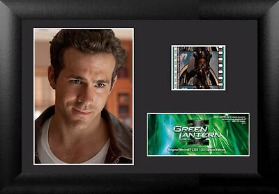 Film Cell Genuine 35mm Framed & Matted Green Lantern Special Edition USFC5551