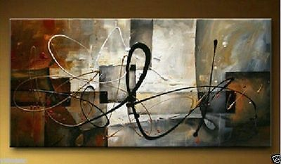 24 x48 large modern abstract art oil painting canvas wall decoration