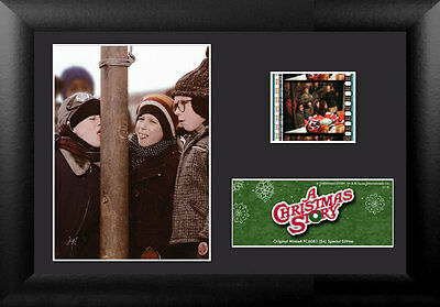 Film Cell Genuine 35mm Framed Matted A Christmas Story USFC6081 Frozen Tongue
