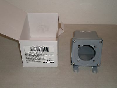 New! Leviton BX60-V Non-Metallic Watertight Back Box for Pin and Sleeve 60A
