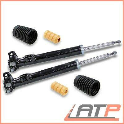 2X Shock Absorber Gas +Dust Cover Front Mercedes 190 W201 E-Class W124 C124 S124