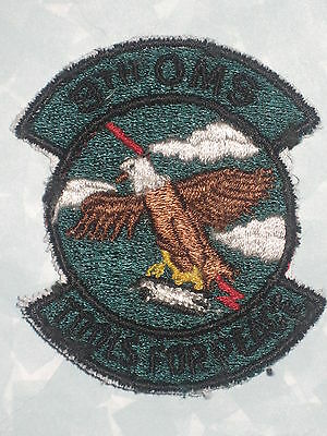 "8th OMS Food For Peace  Patch - US Air Force -2 3/8"" x 2 3/4"""