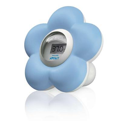 Philips Avent SCH550/20 Bath & Room Baby Thermometer (Blue)