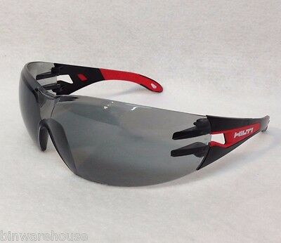 New Hilti Safety Glasses PP EY-GU C HC/AF - Grey - #2065446 New in Package