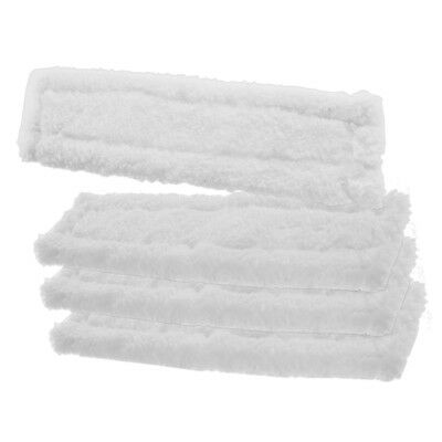 4 x KARCHER WV75 Window Vacuum Cloths Covers Spray Bottle Glass Vac Cleaner Pads