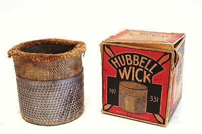 Vintage Hubbell Wick No 331 for Oil Cook Stove with Original Box