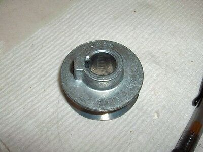 "100s V Belt Pulley NEW 200-A Chicago Zinc Die Cast 2"" Diameter  Bore 3/8"" - 3/4"""