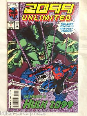 2099 Unlimited #1 Comic Book Marvel 1993