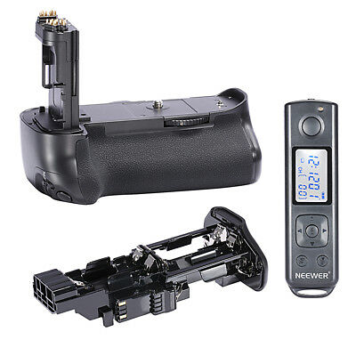 Neewer 2.4G Wireless Battery Grip Replacement for BG-E16 for Canon 7D Mark II