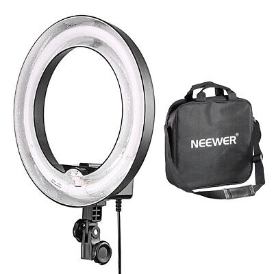 "Neewer Camera Photo/Video Dimmable 14"" 50W Ring Fluorescent Light Flash Light"