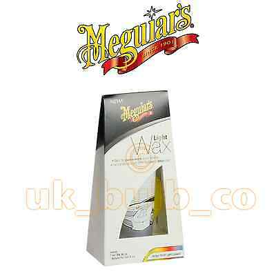 MEGUIARS Light to White Wax All Light Bright Colour Cars NEW! 2013 198g