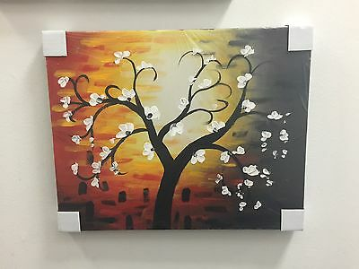 Wall Art Hand Painted Canvas Oil Painting Home Decor Decals #45 With Frame