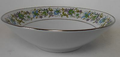 NORITAKE china TRADITION pattern #2356 Round Vegetable Serving Bowl @ 8-1/4""