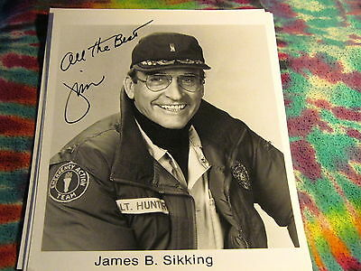 """James B. Sikking - Signed 8"""" X 10"""" Photo Re --------------- K @@ L"""