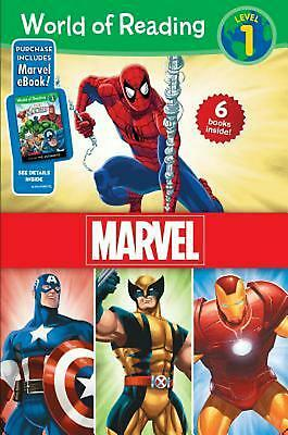 World of Reading Marvel Boxed Set, Level 1 by Disney Book Group Boxed Set Book (
