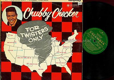 Lp--Chubby Checker--For Twisters Only--