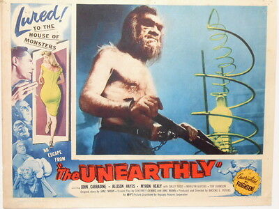 The Unearthly Monsters Horror John Carradine Sci Fi  Lobby Card Poster 1957