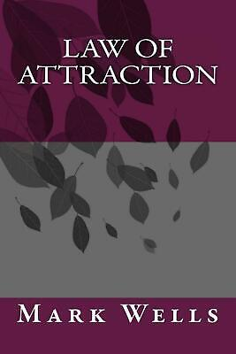 Law of Attraction by Mark Wells (English) Paperback Book Free Shipping!