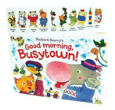 Richard Scarry's Good Morning, Busytown! by Richard Scarry (English) Board Books