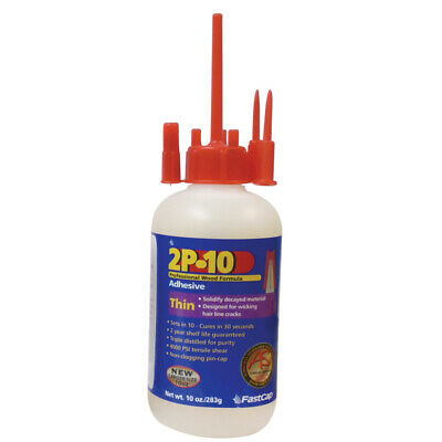 FastCap 2p-10 Thin Super Glue Adhesive 10 oz Strongest Available