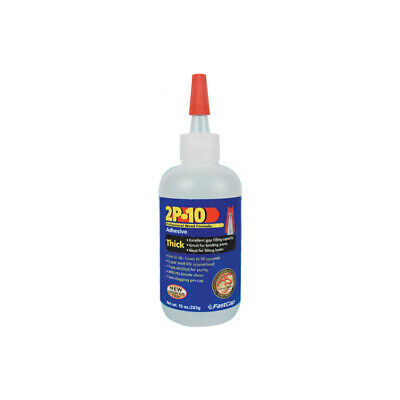 FastCap 2P-10 Thick Super Glue Adhesive 10 oz Strongest Available