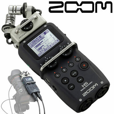 Zoom H5 XY Handy 4 track Audio Recorder with Interchangeable Capsules