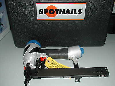 "Spotnails TS3832 18 Gauge 3/16"" Crown Stapler Staple Gun w/ Case"