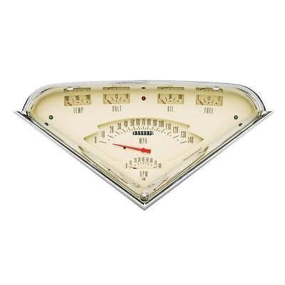 Classic Instruments TF01T 1955-59 Chevy Truck Gauge Set, Tan Face