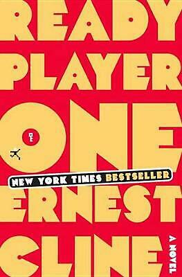 Ready Player One by Ernest Cline (English) Hardcover Book Free Shipping!