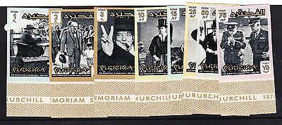 Ajman.1965-74. Six Sets Of Famous People . F.used & Unmounted