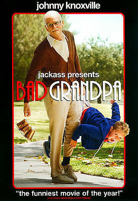 BAD GRANDPA - JOHNNY KNOXVILLE  2014 COMEDY DVD WS
