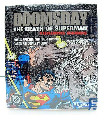 Doomsday The Death of Superman Skybox Trading Cards 1992 Factory Sealed