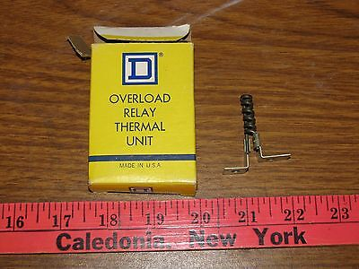 Square D ar7.7 Overload Relay Thermal Unit